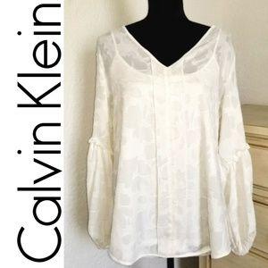 White Blouse ll Calvin Klein